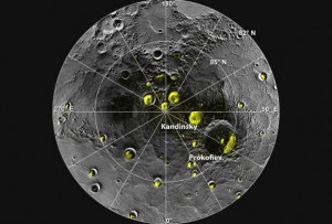 Water Ice Discovered on Mercury