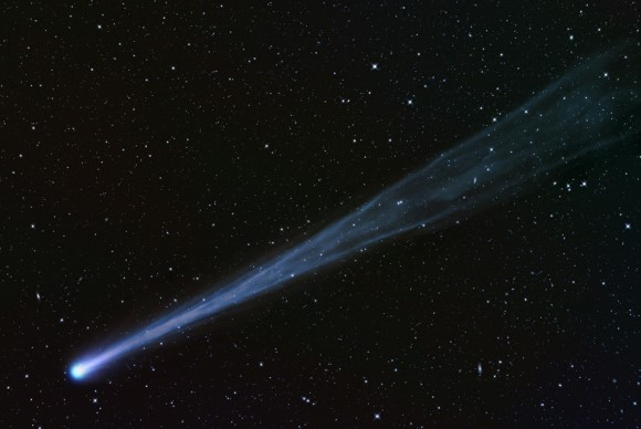 Comet ISON heading towards the sun. German amateur astronomer Waldemar Skorupa recorded this image from Kahler Asten, in Germany, on November 16, 2013. Image: Waldemar Skorupa (Kahler Asten, Germany), via spaceweather.com